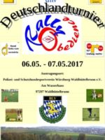 1. RO Deutschland Turnier in Würzburg