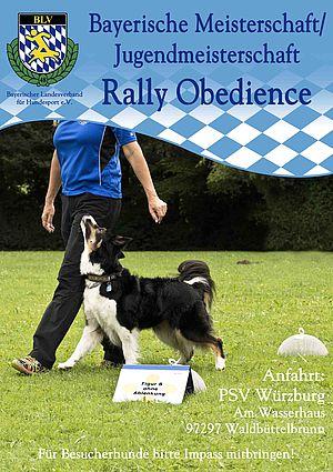Bayerische Meisterschaft Rally Obedience 2018